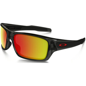 Oakley Turbine XS Gafas Jóvenes, grey smoke/ruby iridium